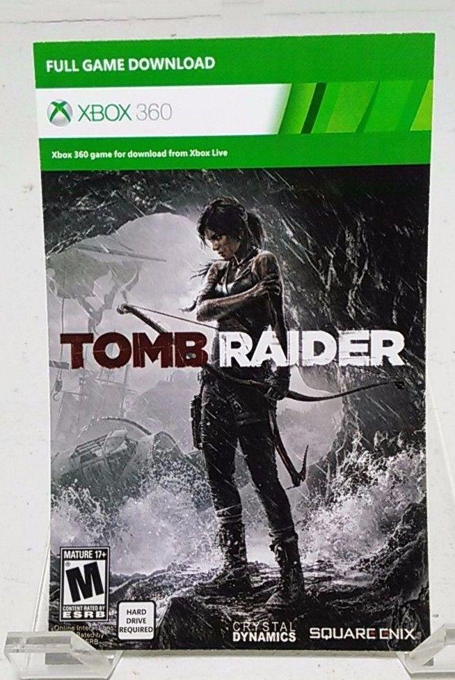 Tomb Raider Xbox 360 Full Game Digital Download