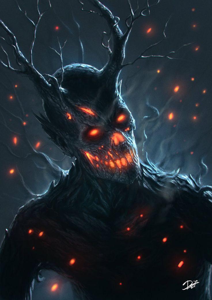 twenty1-grams:  Tree-Demon by Disse86 on DeviantArt