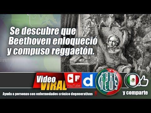 Se descubre que Beethoven enloqueció y compuso reggaetón.