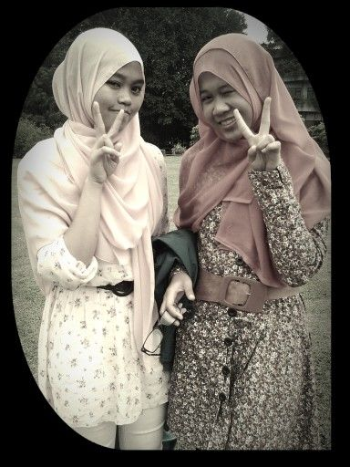 me with Mar'ah at Mekarsariiii=D