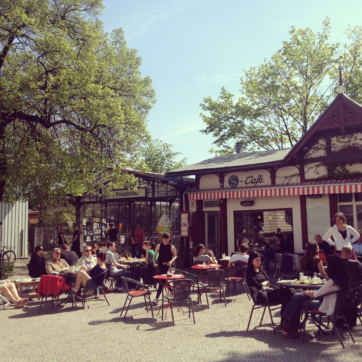 S-Bahn cafe in Friedenau has the perfect summer courtyard complete with chirping birds, beanbags, flowers, trees and relaxed vibe. Great food and cheap plus right by the train stop