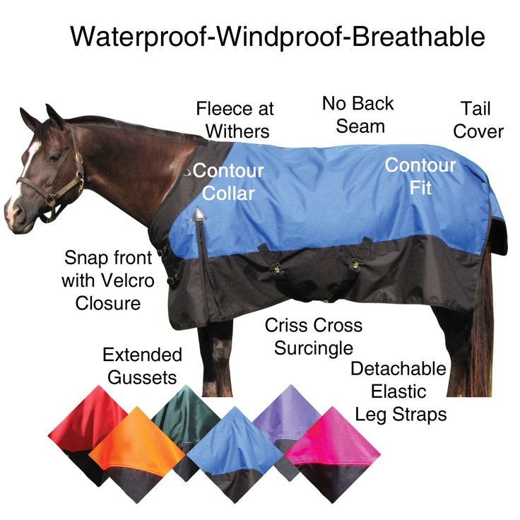 "SStack.com, waterproof turnout sheet. Blue 72"" for Dutch, Red 76"" for Gunny...$74.99 Bought from State Line Tack for $25 cheaper than Schneiders...."