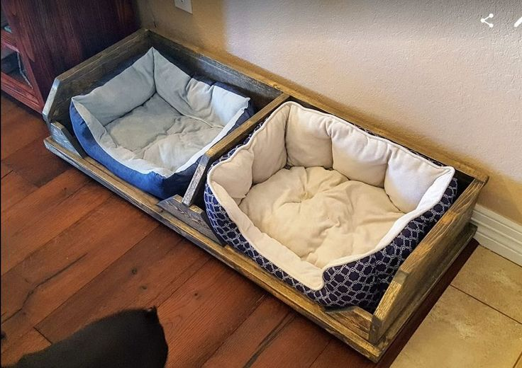 (Twin) DIY Rustic Dog Bed