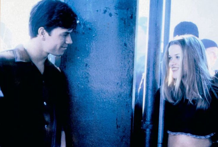 Mark Wahlberg and Reese Witherspoon in Fear (1996) Characters: David McCall, Nicole Walker
