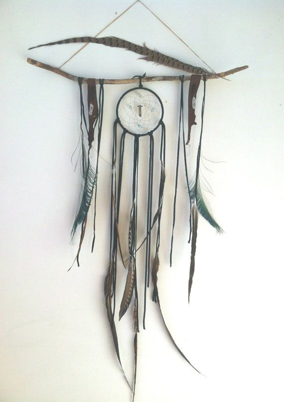Large OOAK bohemian dream catcher. // boho home by SpiritTribe, $115.00