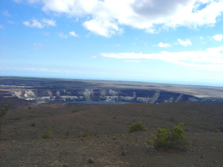 Kilauea Crater, Big Island, Hawaii