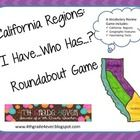$Students will beg to review their California regions facts with this fast-paced, whole class game about the mountain, desert, valley and coastal re...
