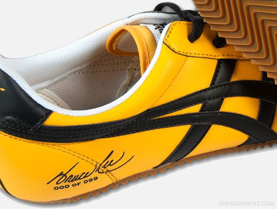 asics onitsuka tiger mexico 66 bruce lee yellow black shoes