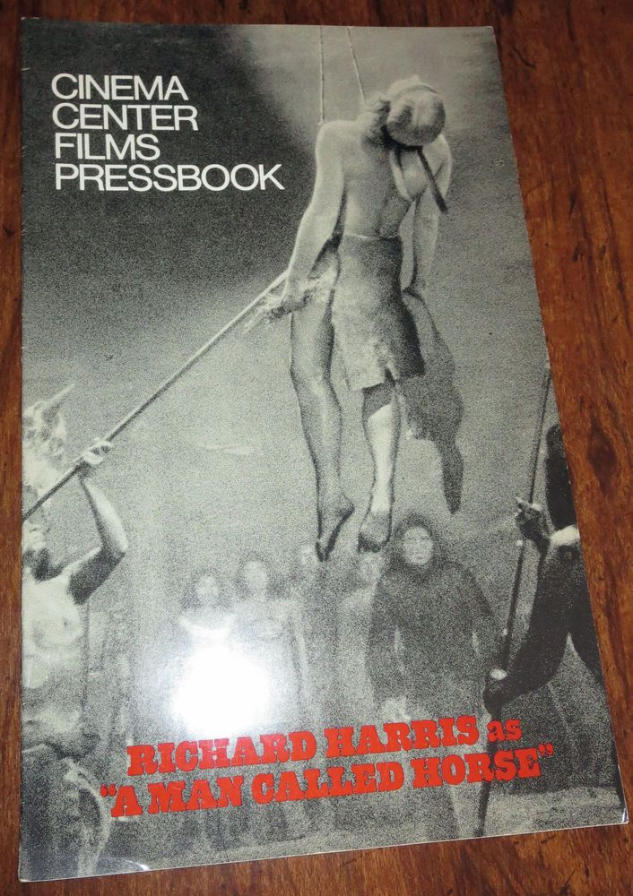 1970 A MAN CALLED HORSE--PRESSBOOK   CORINNA TSOPEI IN THIGH HIGH BOOTS