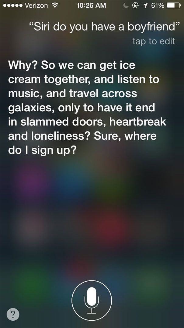 Siri is wise to the entitlement mentality taking over our society.... AD-Best-Funny-Siri-Responses-2