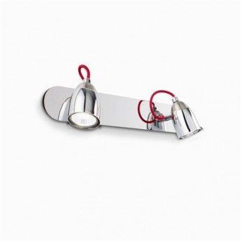 Nowoczesny kinkiet z serii Pollicino - producent Ideal Lux. #Ideal_Lux #Pollicino #włoskie_lampy #kinkiet #lampy_młodzieżowe #lampy_kraków #abanet_kraków #lampy_abanet
