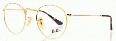 RAY BAN ROUND METAL RX3447V Doré 2500