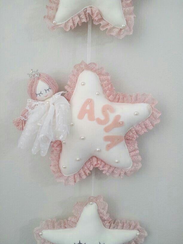 Yıldız Bebek Kapı Süsü