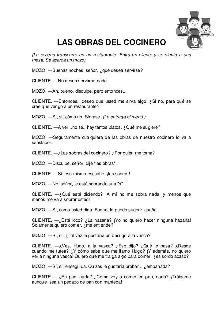 Guia comprensión textos dramáticos | Plan lector | Education