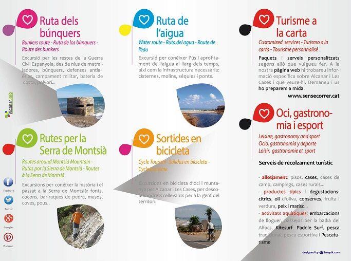 http://www.sensecorrer.cat/  rutes culturals guiades que ofereixen i serveis de recolzment turístic al municipi d' #Alcanar.