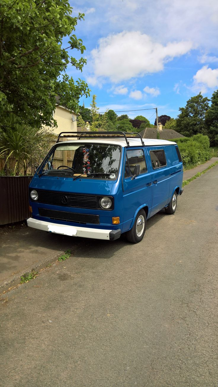 AbsolutleyNOT For Sale VW T3 T25 1988 Water Cooled 19 Petrol Panel Van Camper Conversion
