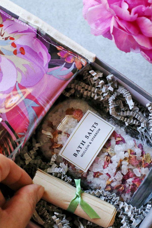 Design Your Own Spa Day Gift Box At Pumeli Giftbox Basket Giftforher Crueltyfree
