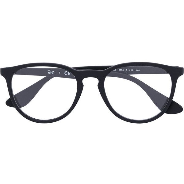 fd40a258a90 Ray-Ban round shaped glasses ( 165) ❤ liked on Polyvore featuring  accessories