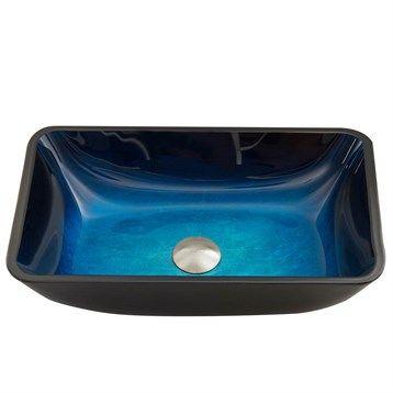 VIGO+Rectangular+Turquoise+Water+Glass+Vessel+Sink