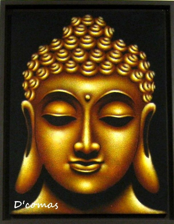 Buddha oil painting summer of zen pinterest buddha for Buddha mural paintings