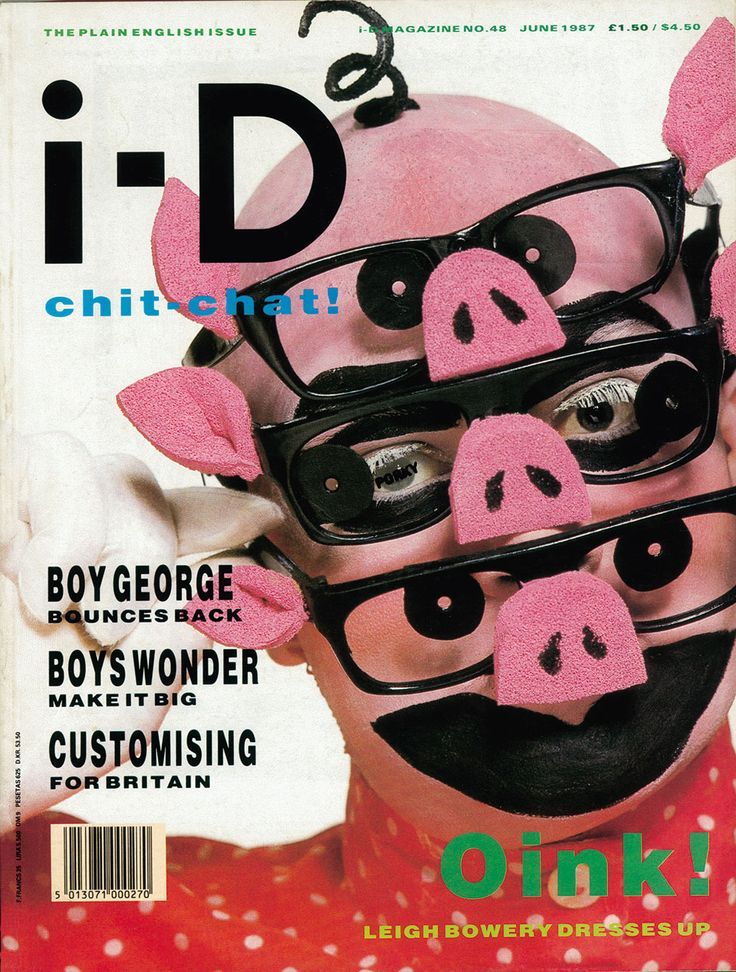Leigh Bowery club kid guide   i-D Magazine