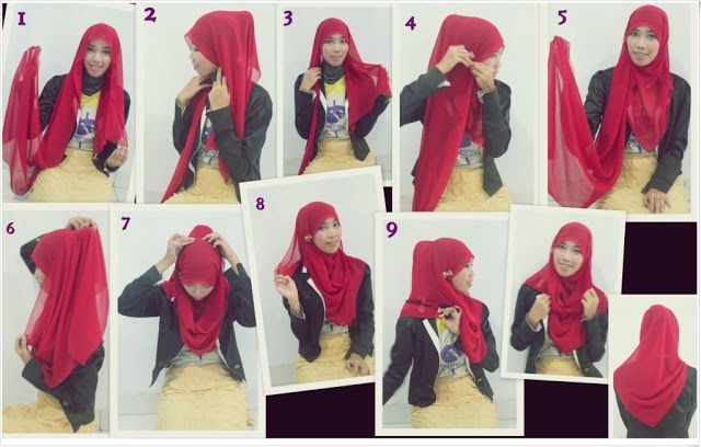 Tutorial Hijab Four Aspects very Fast
