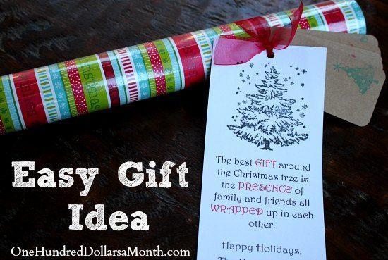 Christmas Gift Idea for Neighbors and Teachers