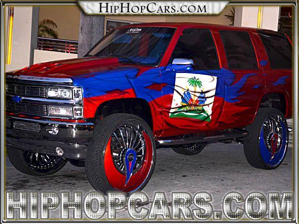 30 Inch Rims On Trucks : Hip hop custom trucks pictures dub azzsmacka rims