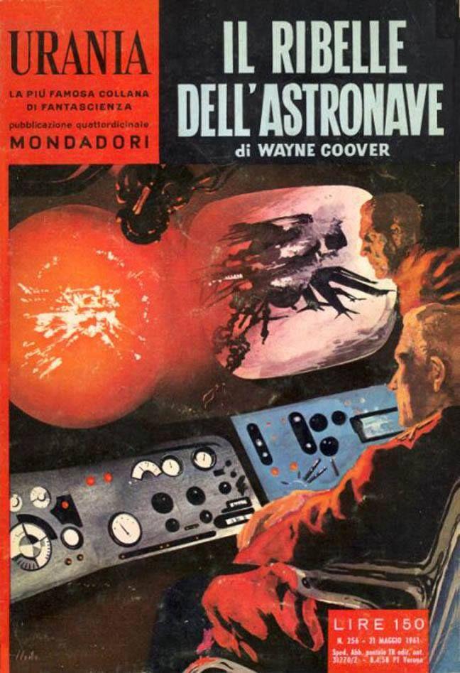 Urania #256 (1961-05-21) Arnoldo Mondadori Editore Karel Thole cover