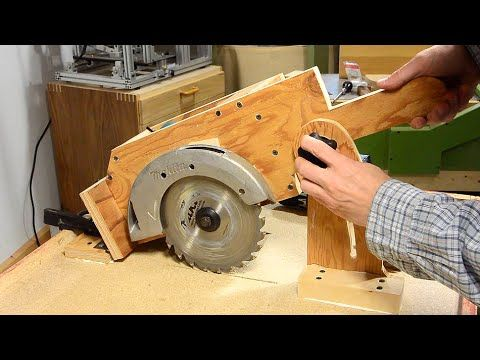 Building the depth adjustment mechanism of my second homemade table saw. A build using minimal tools. http://woodgears.ca/homemade_tablesaw/depth.html Plans ...