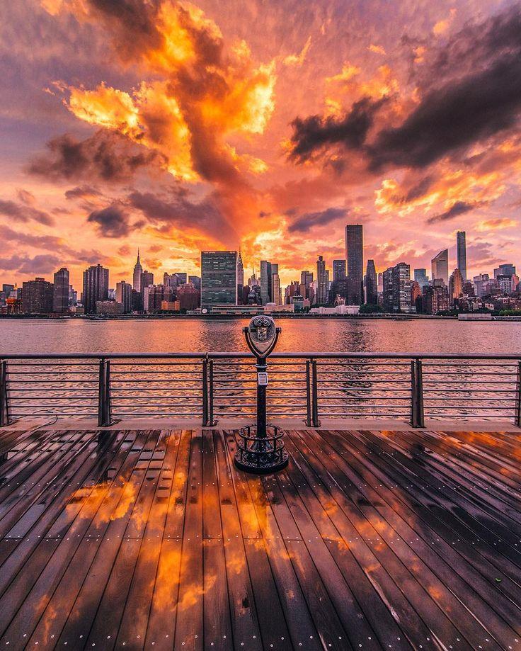 картинки с видом заката виды города на закате окрашиванию волос