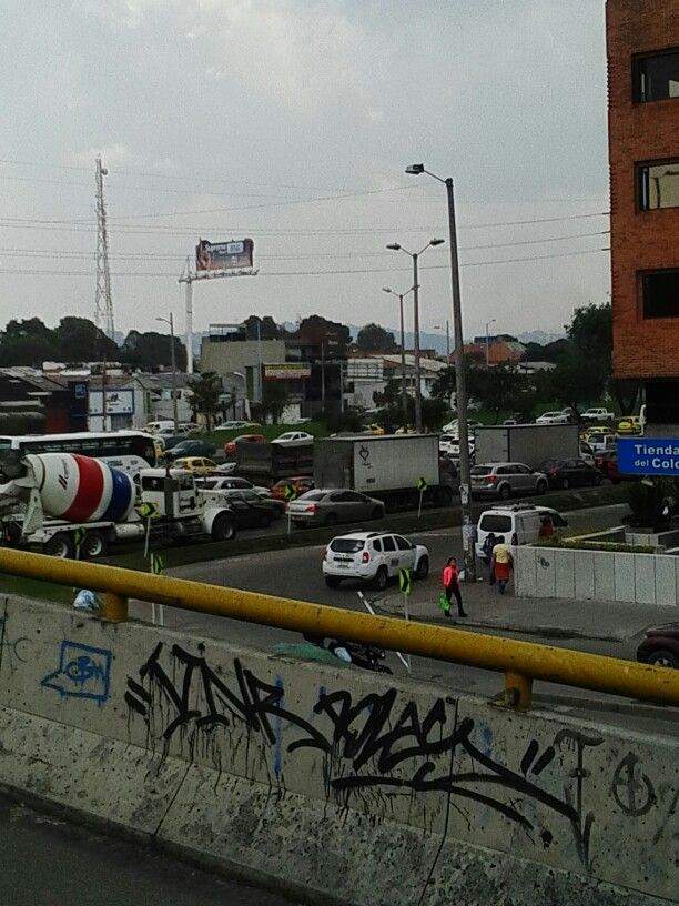 Puente Calle 100 con Autopista Norte