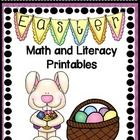 FREEBIE Easter Math and Literacy Printables Centers Stations  Early Finishers  I am so happy to offer this FREEBIE to you.  If you like this FREEBI...