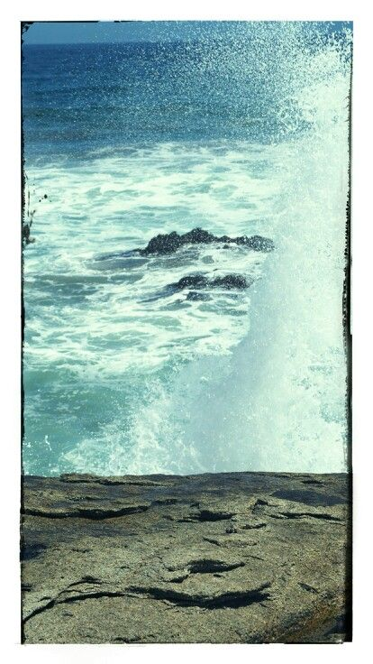 Mar. Playa. Olas