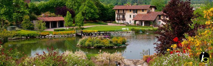 Lago Maggiore casale con golf privato e laghetti - Ivan Gobetti Agenzia immobiliare in Italia