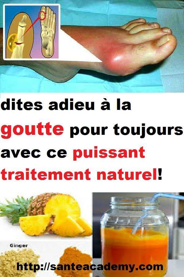 7 plantes médicinales contre la goutte due à l'acide urique