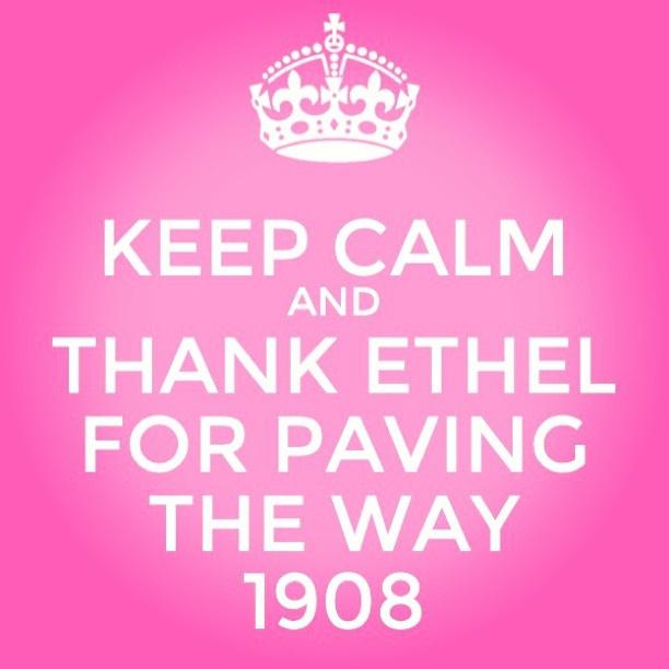 Yeeeeeeesssssssss!!! Ethel knew best!!