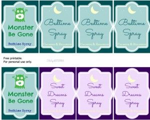 Essential Oils for Bedtime: Bedtime/ Sleepy Spray Recipe with Free Printables - Easy Green Mom