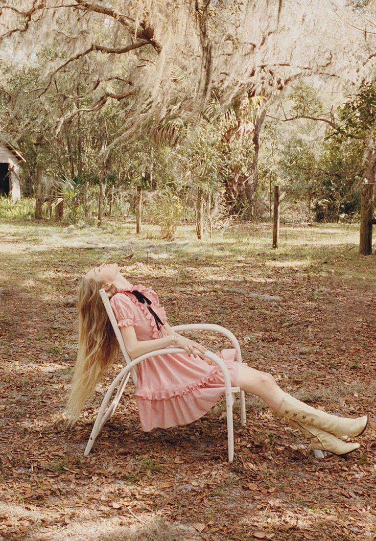 pink frill gucci dress | photo venetia scott