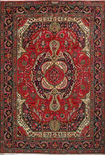 Tabriz Persian Rug, Buy Handmade Tabriz Persian Rug 6' 8