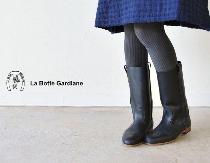 【楽天市場】LA BOTTE GARDIANE ラボッタ ガルディエール ELLA/エラ レザーブーツ(全2色)【2014秋冬】:Crouka(クローカ)