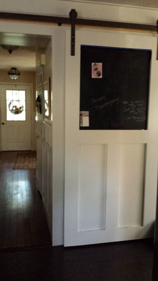 How To Build A Pantry Barn Door