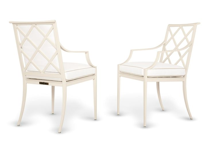 Buy Otey Dining Arm Chairs by McKinnon and Harris - Made-to-Order designer Furniture from Dering Hall's collection of Traditional Transitional Armchairs & Club Chairs.