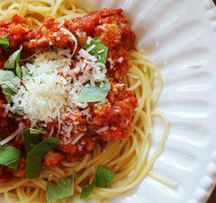Gyors bolognai spagetti
