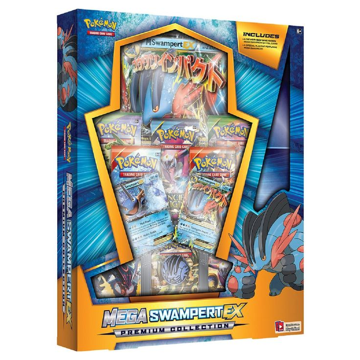 Pokemon Trading Card Game Mega Swampert Premium Collection