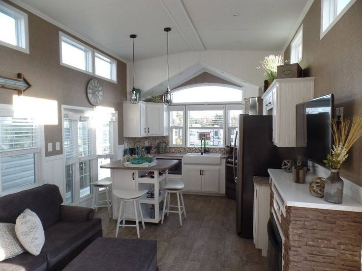 Check out this 2016 Kropf Island Super Double Loft 5062 Front Kitchen  listing in Milton   Park HomesTiny. 167 best Park Model Homes images on Pinterest   Park model homes