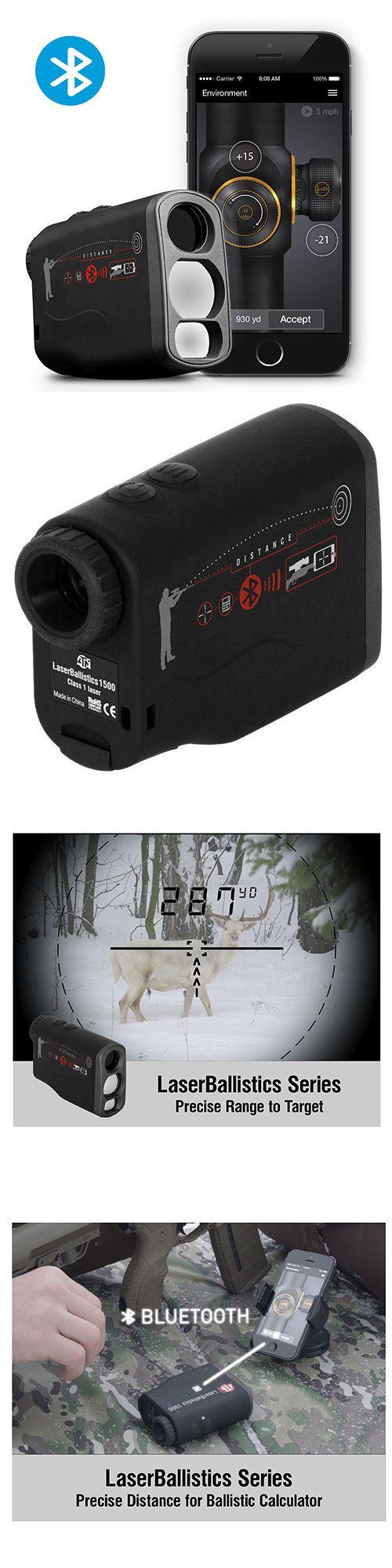 Range Finders 31712: New Atn Corp Lblrf1500b Laser Ballistics Laser Rangefinder 1500M Bluetooth !!! -> BUY IT NOW ONLY: $310 on eBay!