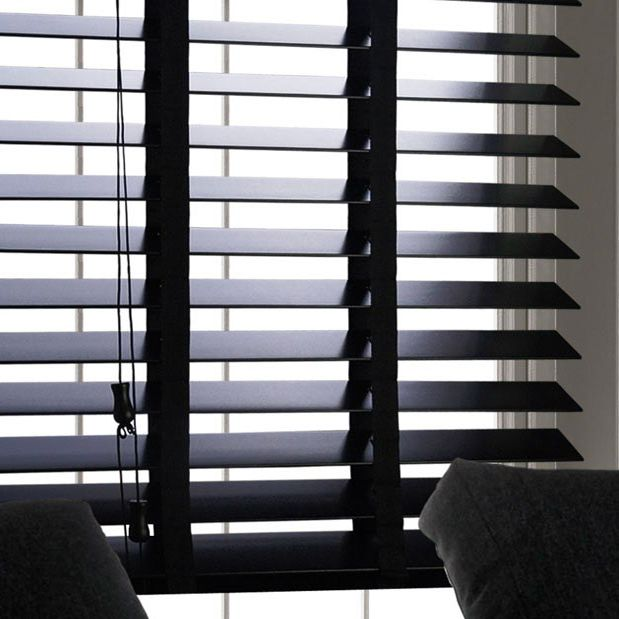 Black Wooden Venetian Blinds With Tapes: https://cheapestblindsuk.com/shop/standard-wooden-with-tapes/black-with-tapes/