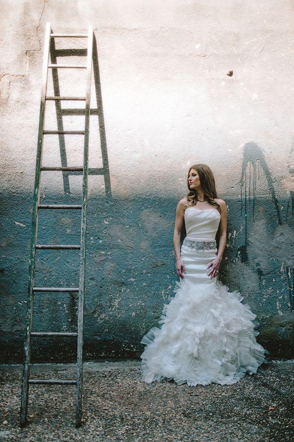 Urban Boho Hochzeit Inspiration schießen