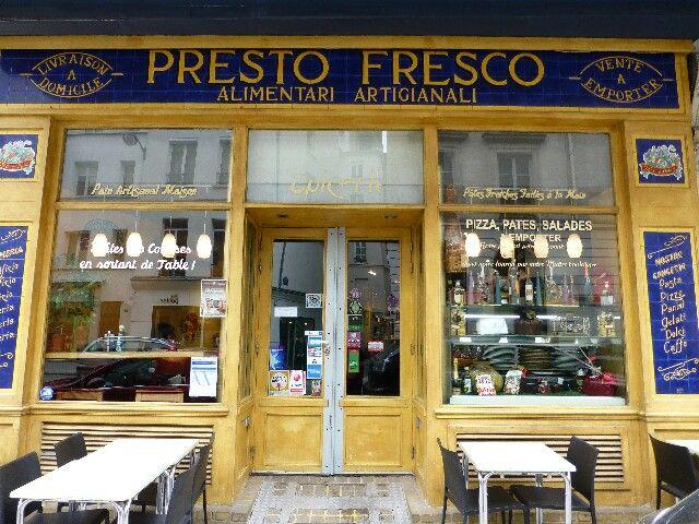 Presto Fresco 14 rue Montmartre Paris 1er
